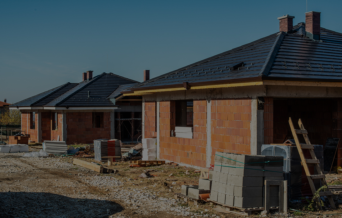 Houses in Construction